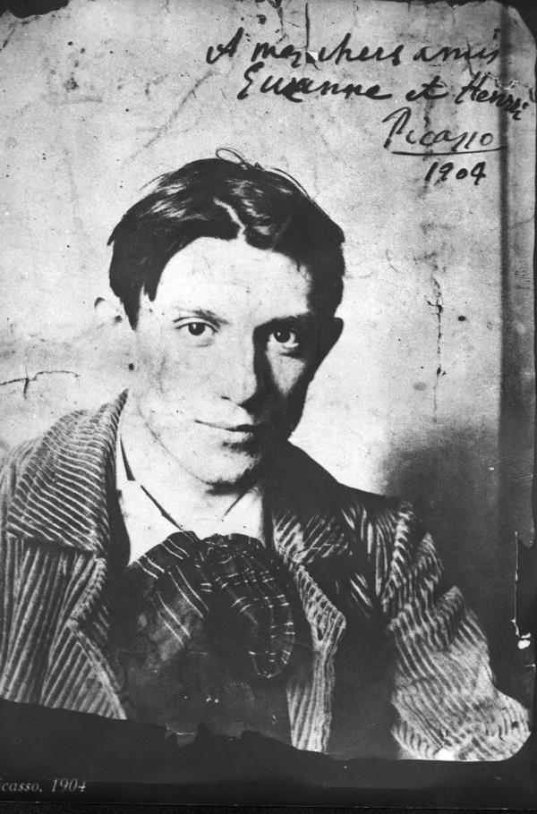Пабло Пикассо. Фото, 1904