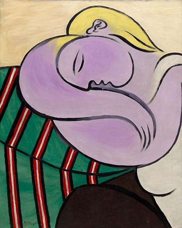 Картина Пабло Пикассо. Женщина с желтыми волосами. 1931