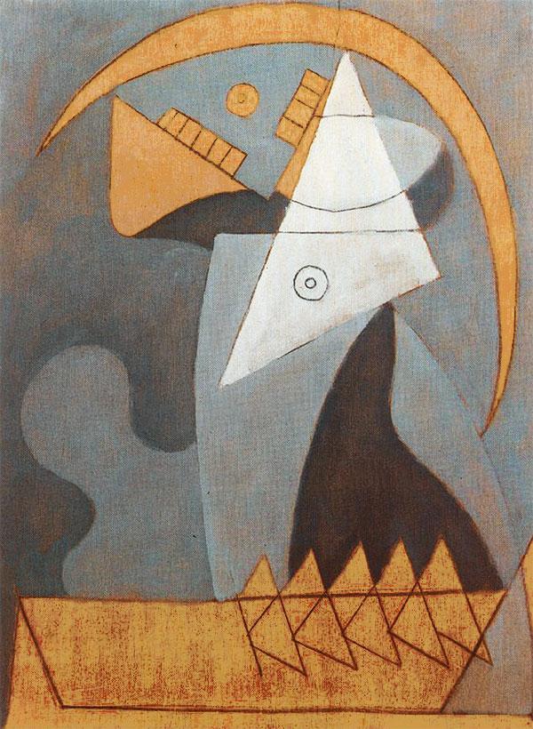 Картина Пабло Пикассо. Фигура. 1930