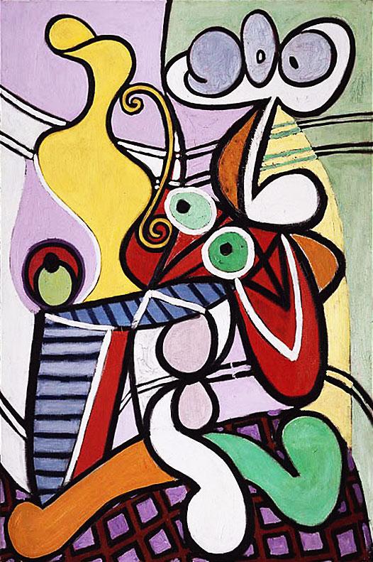 Картина Пабло Пикассо. Большой натюрморт. 1931