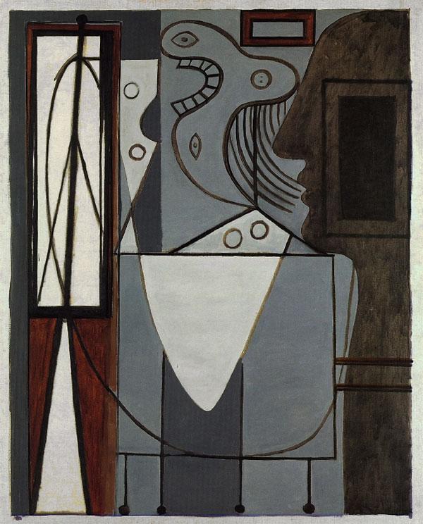 Картина Пабло Пикассо. Студия. 1928-1929