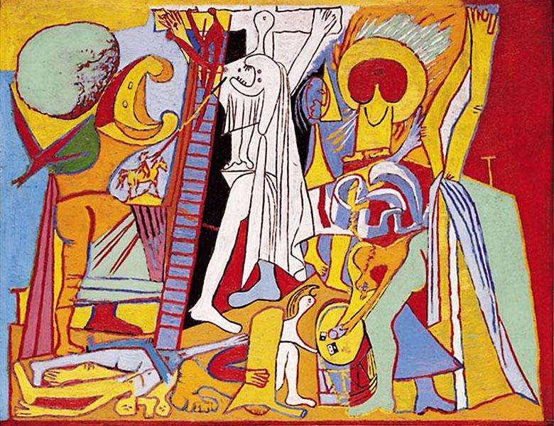 Картина Пабло Пикассо. Распятие. 1930