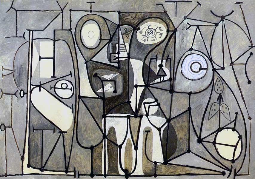 Картина Пабло Пикассо. Кухня 2. 1948