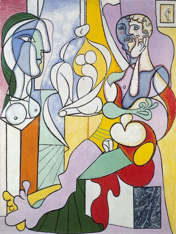 Картина Пабло Пикассо. Скульптор. 1931