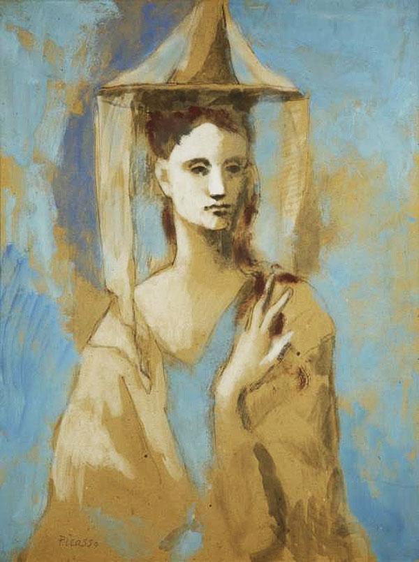 Картина Пабло Пикассо. Испанка с Майорки. 1905
