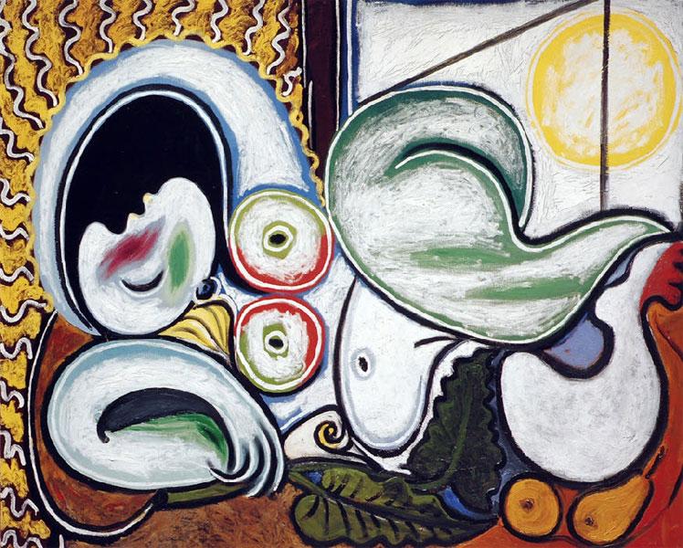 Картина Пабло Пикассо. Лежащая обнаженная. 1932