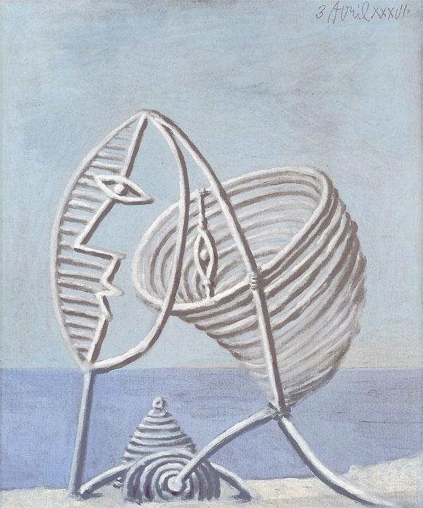 Картина Пабло Пикассо. Портрет девушки. 1936