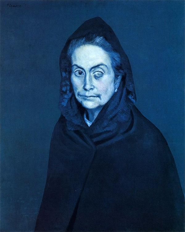 Картина Пабло Пикассо. Селестина. 1904