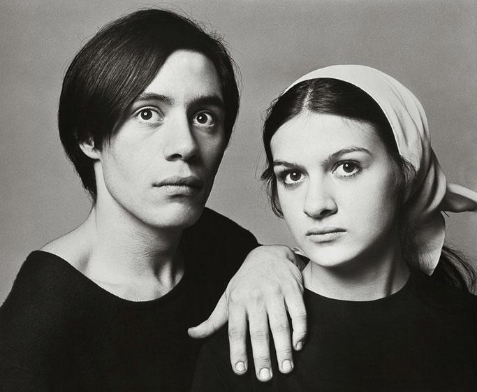 Клод и Палома Пикассо, Париж, 25 января 1966. Фото — Ричард Аведон