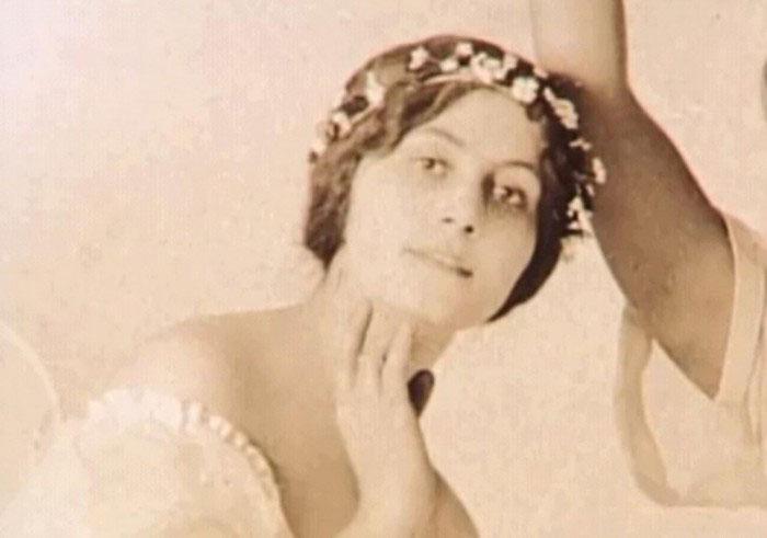 Ольга Хохлова в танце, 1910е