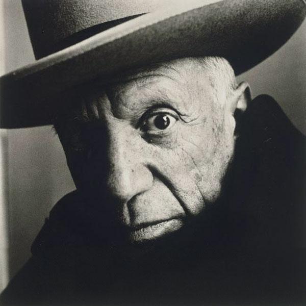 Пабло Пикассо, Канны, 1957. Фото 1, Ирвин Пенн