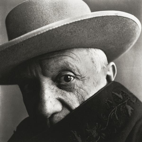 Пабло Пикассо, Канны, 1957. Фото 2, Ирвин Пенн