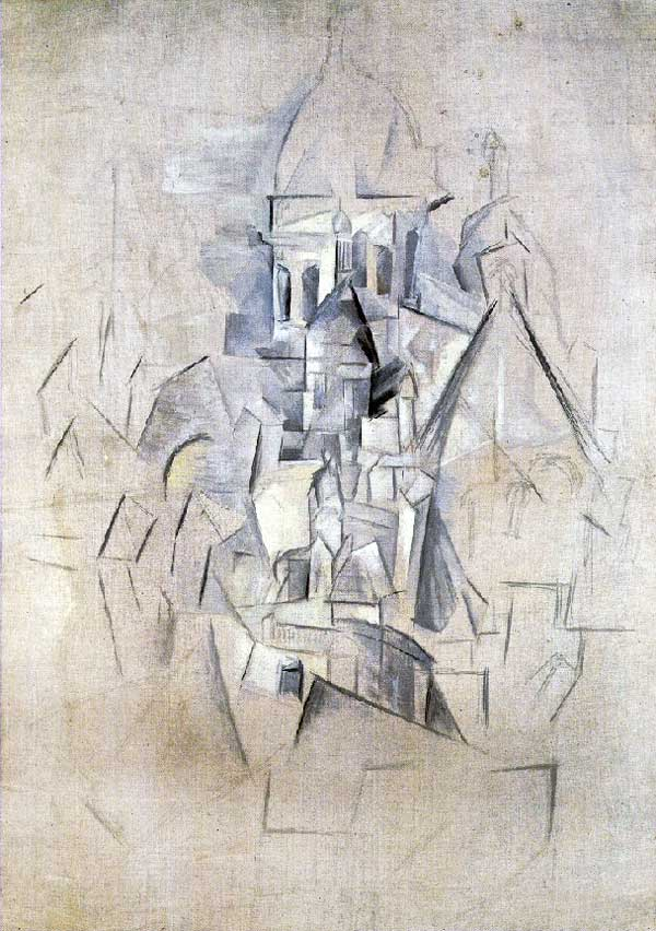 Картина Пабло Пикассо. Сакре-Кёр. 1910