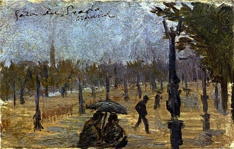 Картина Пабло Пикассо. Салон Прадо. 1897