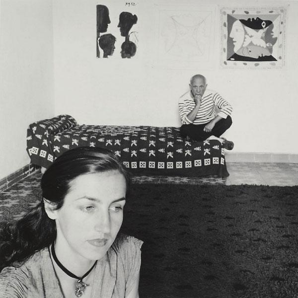 Пабло Пикассо и Франсуаза Жило, 1952. Фото 1, Робер Дуано