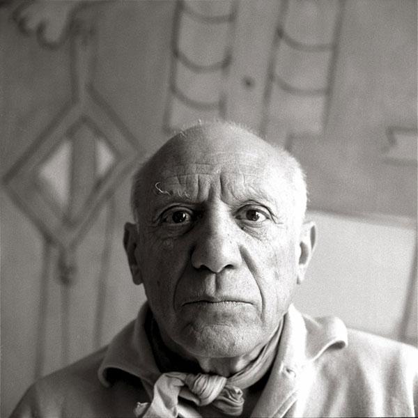 Пабло Пикассо, Больё, апрель 1958. Фото 2, Ричард Аведон