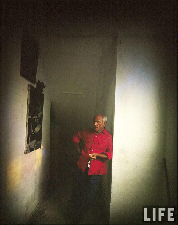 Пабло Пикассо дома. Валлорис, 1949. Гийон Мили, фото 3