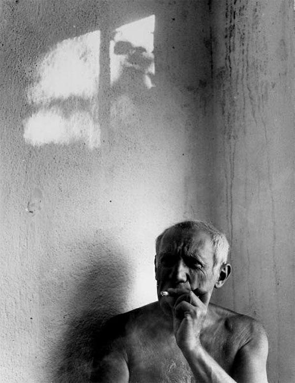 Пабло Пикассо дома. Валлорис, 1949. Гийон Мили, фото 4