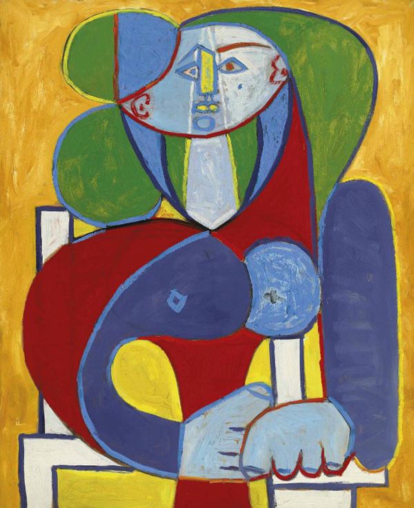 Картина Пабло Пикассо. Бюст Франсуазы. 1946 ($17,3 млн)