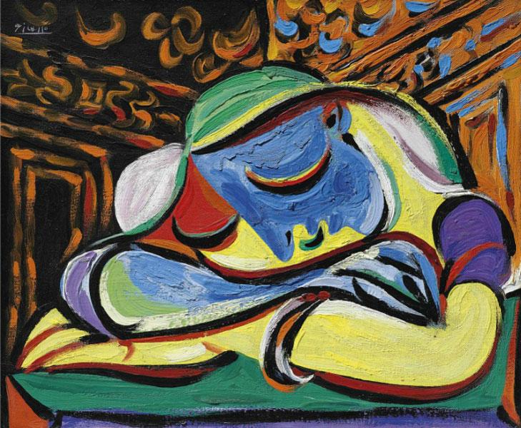 Картина Пабло Пикассо. Спящая девушка. 1935 ($21,9 млн)