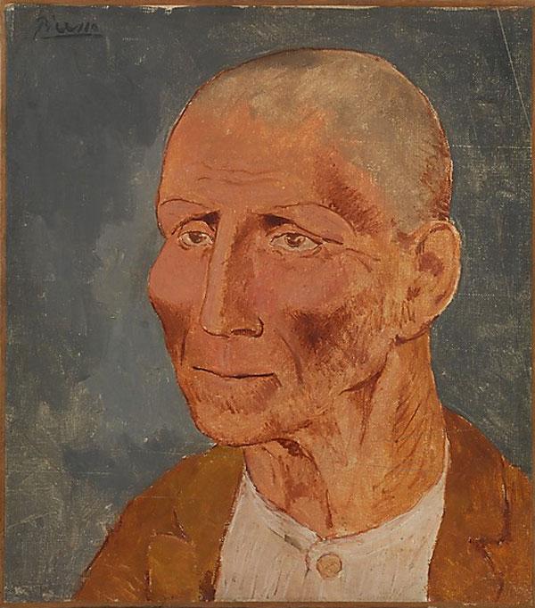 Картина Пабло Пикассо. Хосеп Фондевила. 1906
