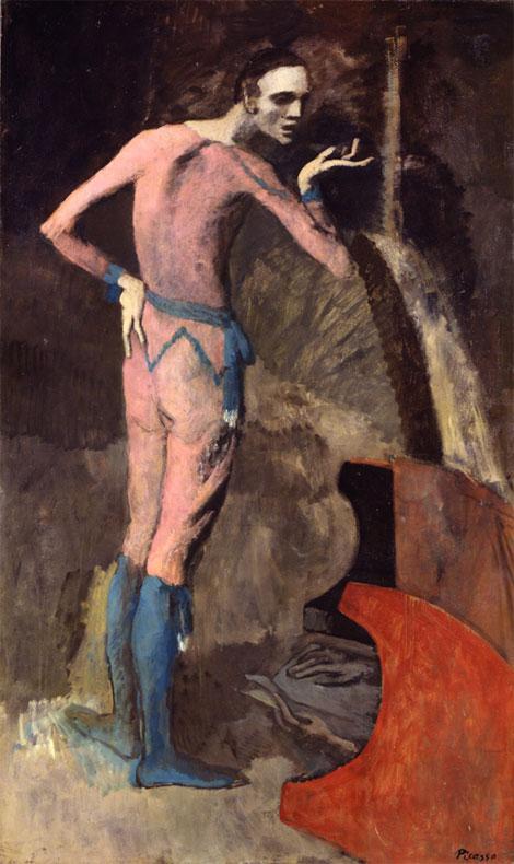 Картина Пабло Пикассо. Актер. 1904
