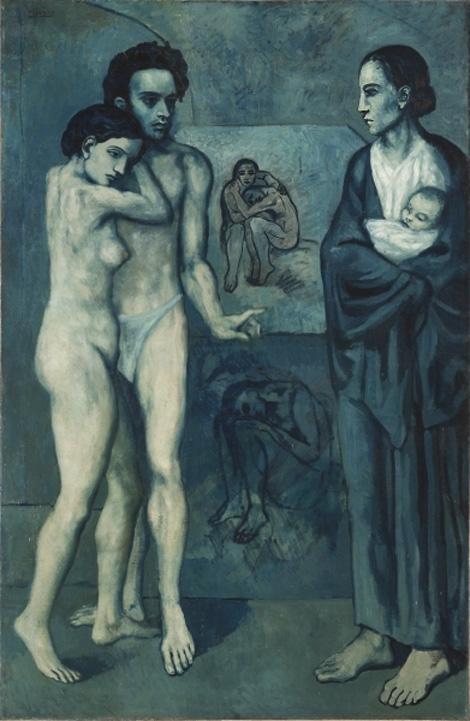 Картина Пабло Пикассо. Жизнь. 1903