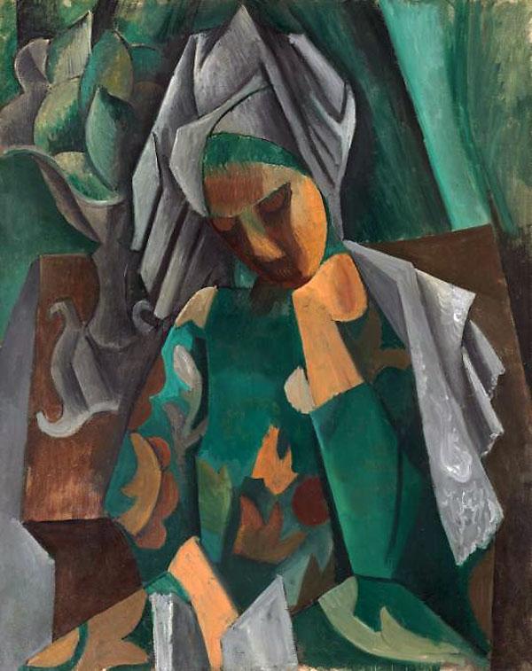 Картина Пабло Пикассо. Королева Изабо. 1909