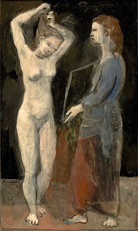Картина Пабло Пикассо. Туалет (Фернанда). 1906