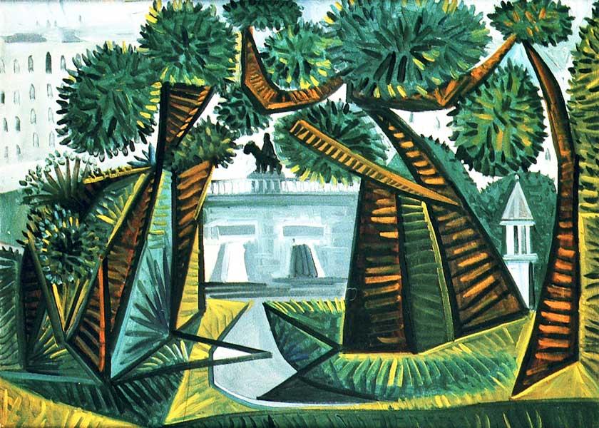 Картина Пабло Пикассо. Ле Вер-Галан. 1943