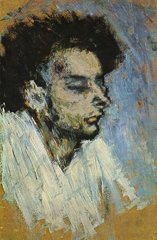 Картина Пабло Пикассо. Смерть Касагемаса (Самоубийство). 1901