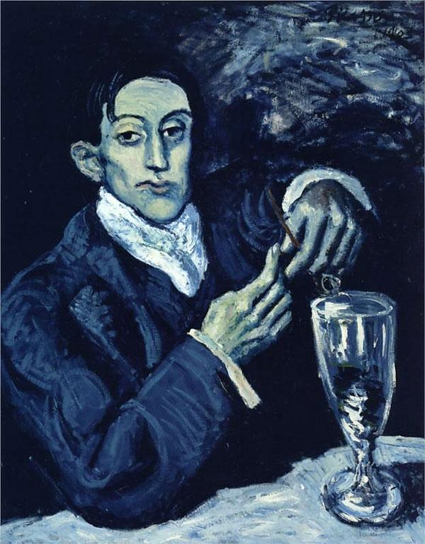 Картина Пабло Пикассо. Портрет Анхела Фернандеса де Сото. 1903 ($51,6 млн)