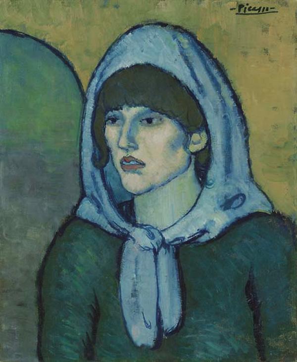 Картина Пабло Пикассо. Портрет Жермен. 1902 ($18,6 млн)