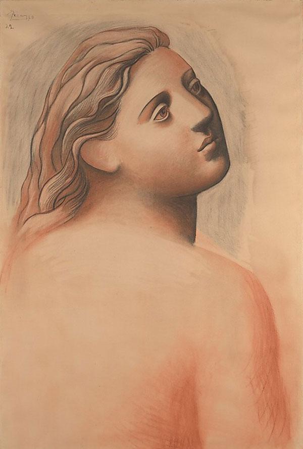 Картина Пабло Пикассо. Голова женщины. 1922