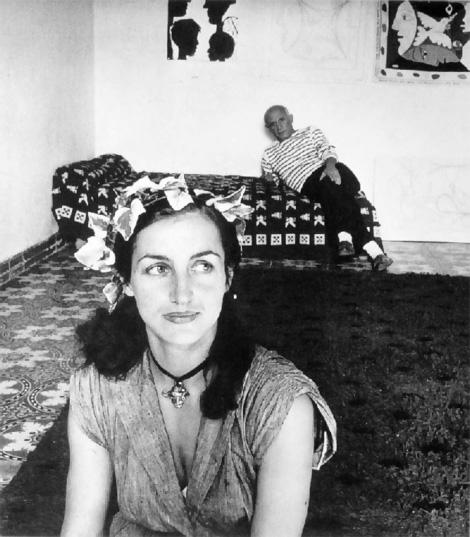 Пабло Пикассо и Франсуаза Жило, 1952. Фото 2, Робер Дуано
