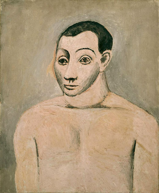 Пабло Пикассо. Автопортрет. 1906
