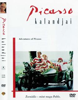 Приключение Пикассо. Picassos aventyr. Швеция, 1978. Афиша