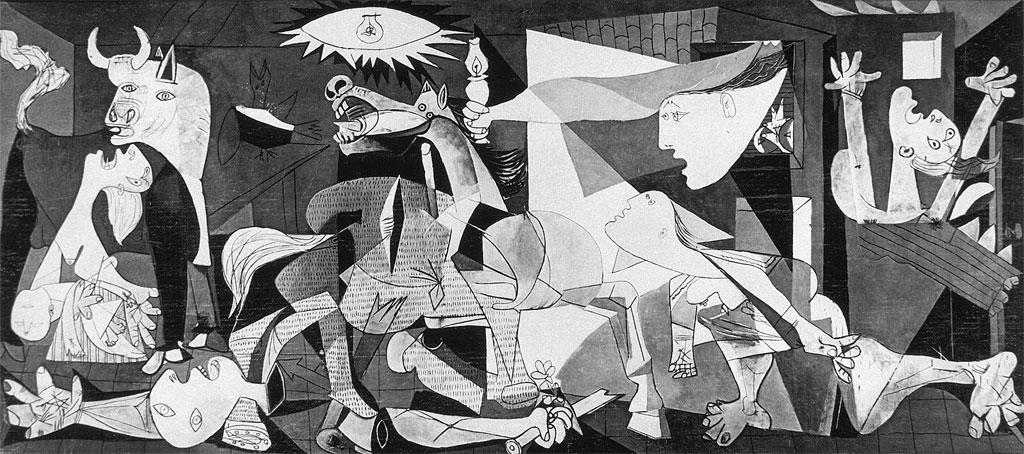 Герника Пабло Пикассо 1937
