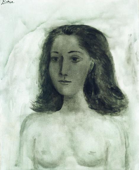 Картина Пабло Пикассо. Дора Маар. 1941
