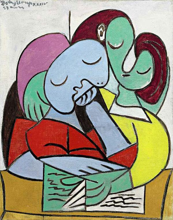Картина Пабло Пикассо. Читающие женщины (Два персонажа). 1934 ($21,3 млн)
