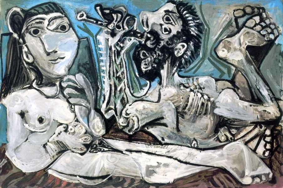 Картина Пабло Пикассо. Серенада. 1967 ($23,0 млн)