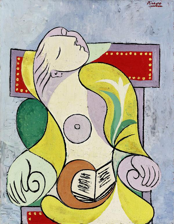 Pablo Picasso La lecture