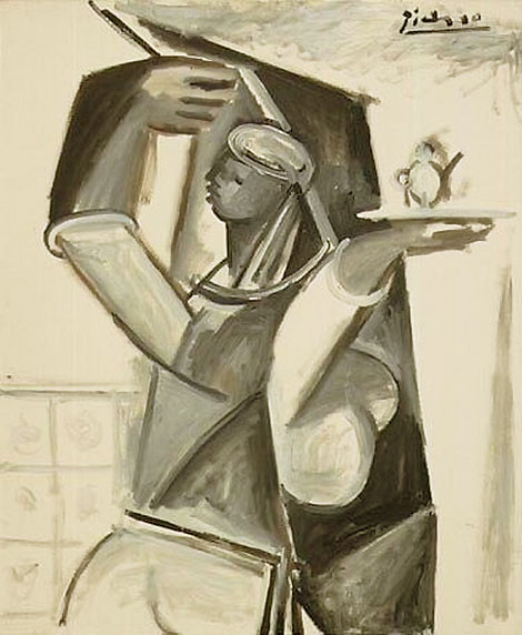 Картина Пабло Пикассо. Алжирские женщины, версия G (7). 18 января 1955