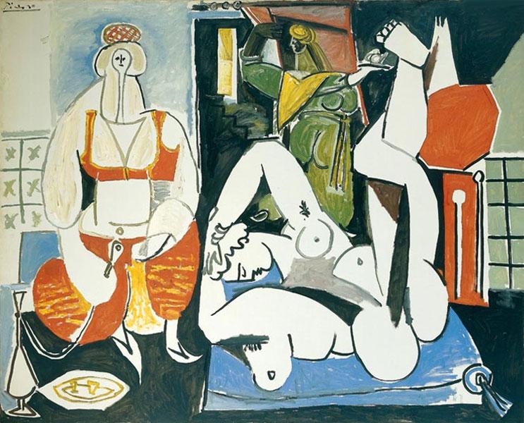 Картина Пабло Пикассо. Алжирские женщины, версия H (8). 24 января 1955 ($7,2 млн)