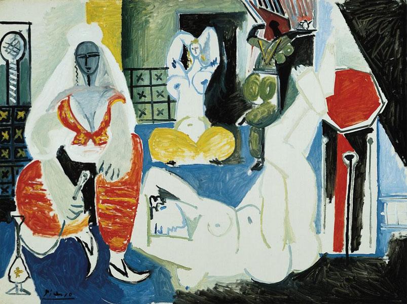 Картина Пабло Пикассо. Алжирские женщины, версия I (9). 25 января 1955