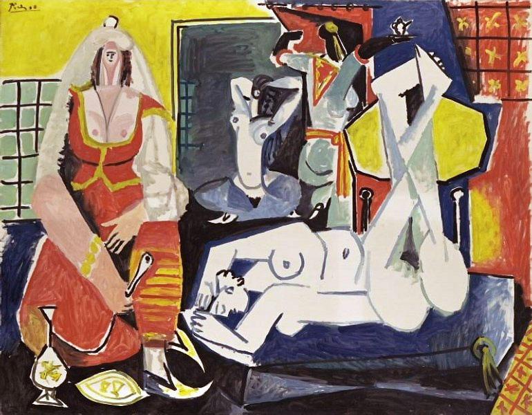 Картина Пабло Пикассо. Алжирские женщины, версия J (10). 26 января 1955 ($18,6 млн)