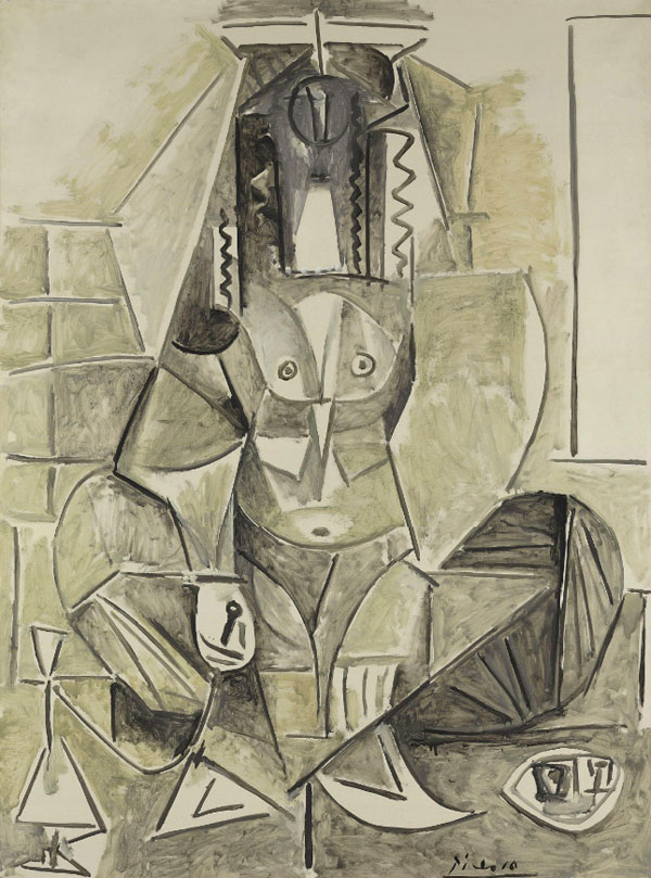 Картина Пабло Пикассо. Алжирские женщины, версия L (12). 9 февраля 1955 ($21,4 млн)