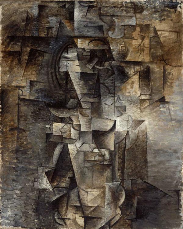Картина Пабло Пикассо. Портрет женщины. 1910