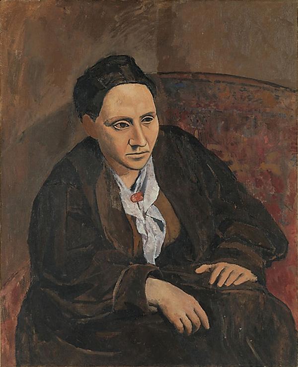 Картина Пабло Пикассо. Гертруда Стайн. 1905-1906
