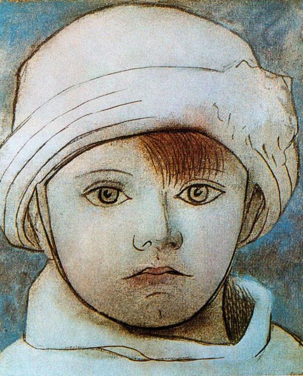 Картина Пабло Пикассо. Портрет Пауло, сына художника. 1923